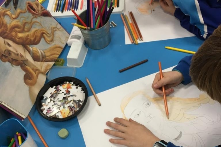 Buddies Art - Sesiones de arte en inglés