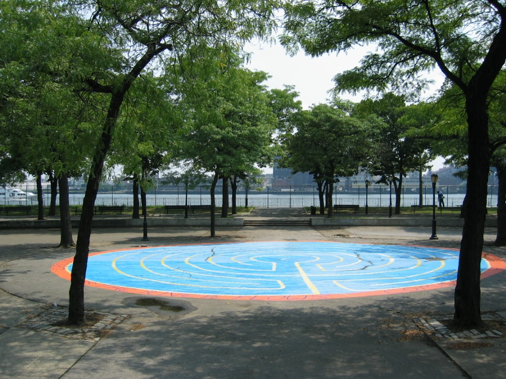 East River Reflections Labyrinth 2004-2012
