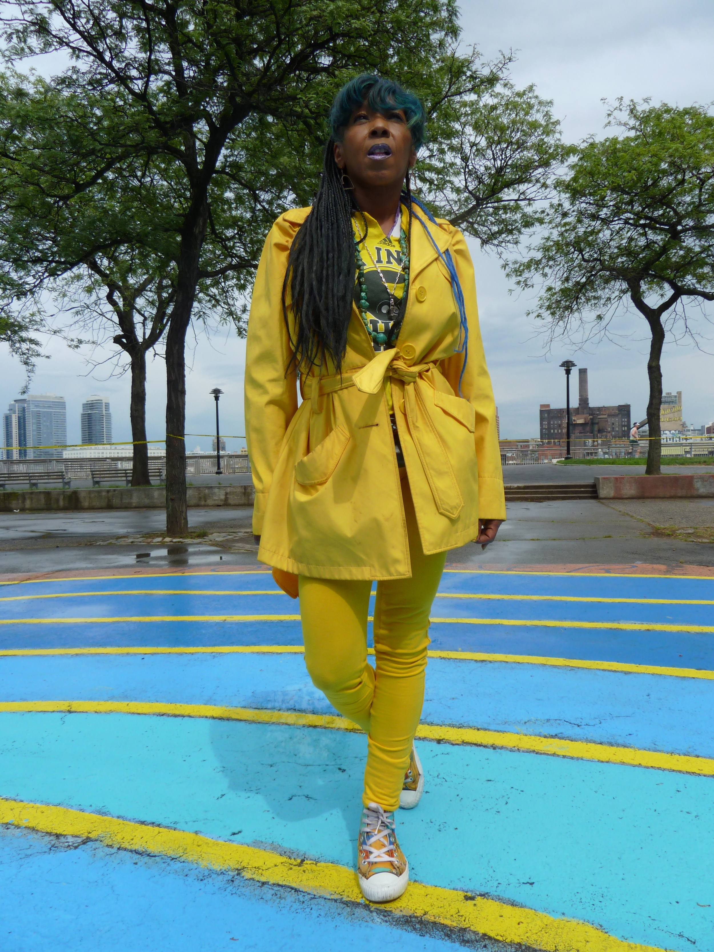 Tanzania on the East River Reflections Labyrinth.