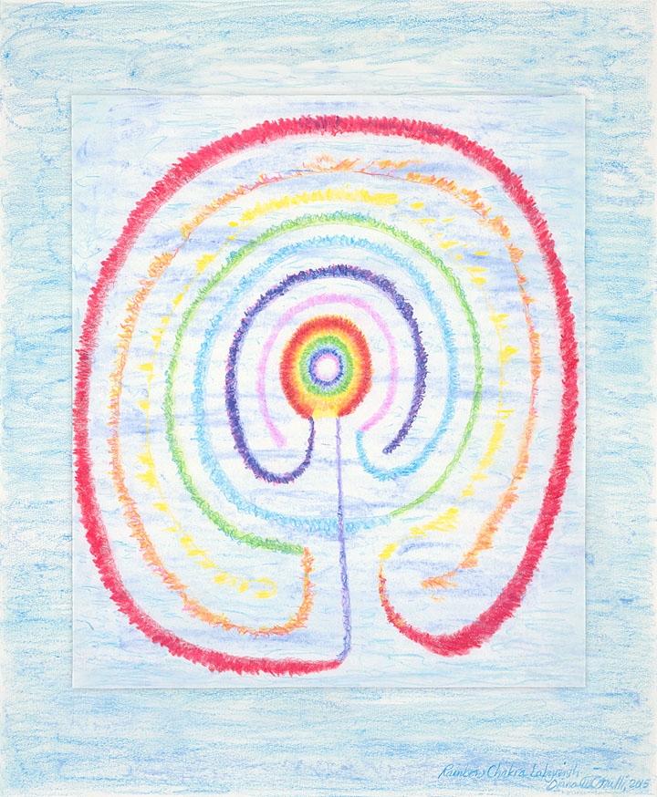 Rainbow Chakra Labyrinth