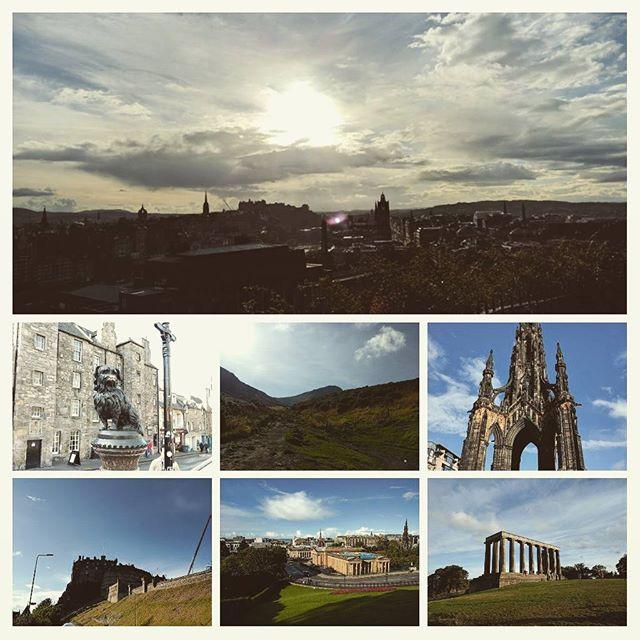 Edinburgh touristing
