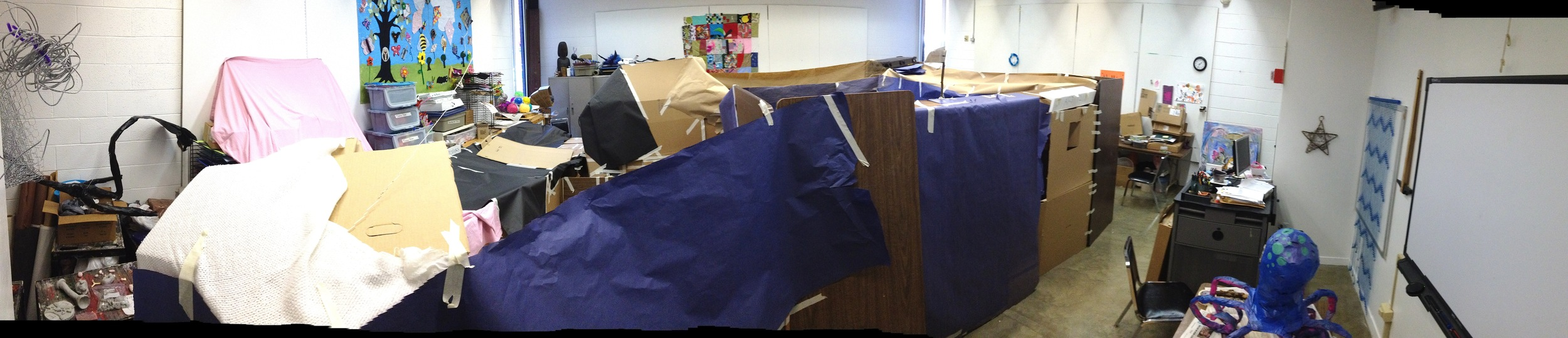 The Embodied Pedagogy of Fort Making (fall 2013)