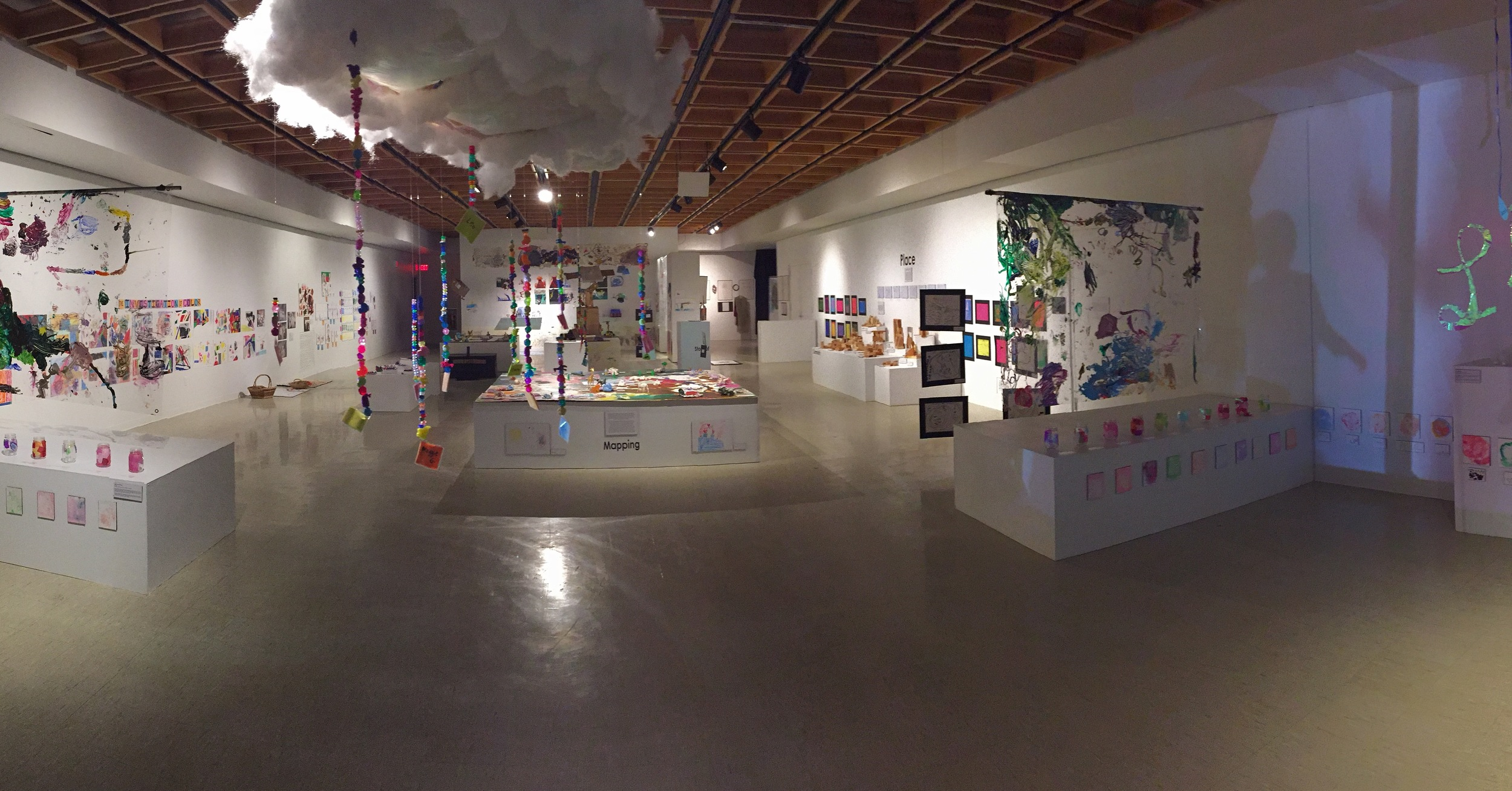 Saturday School Art Exhibit (fall 2015)