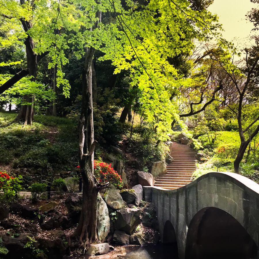 Arisugawa Park, Tokyo, Japan