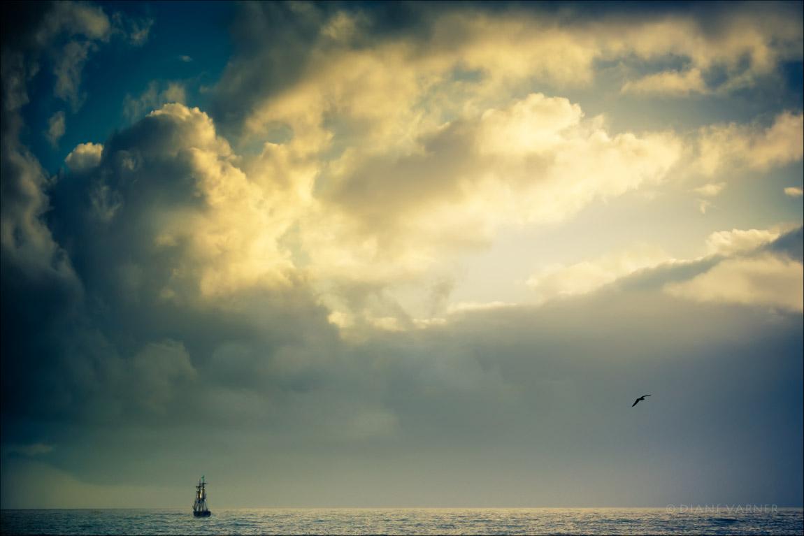 Half Moon Bay Sea Ships