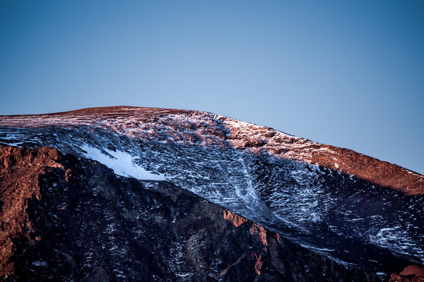 Autumn Cold Mountaintop - Eastern Sierra