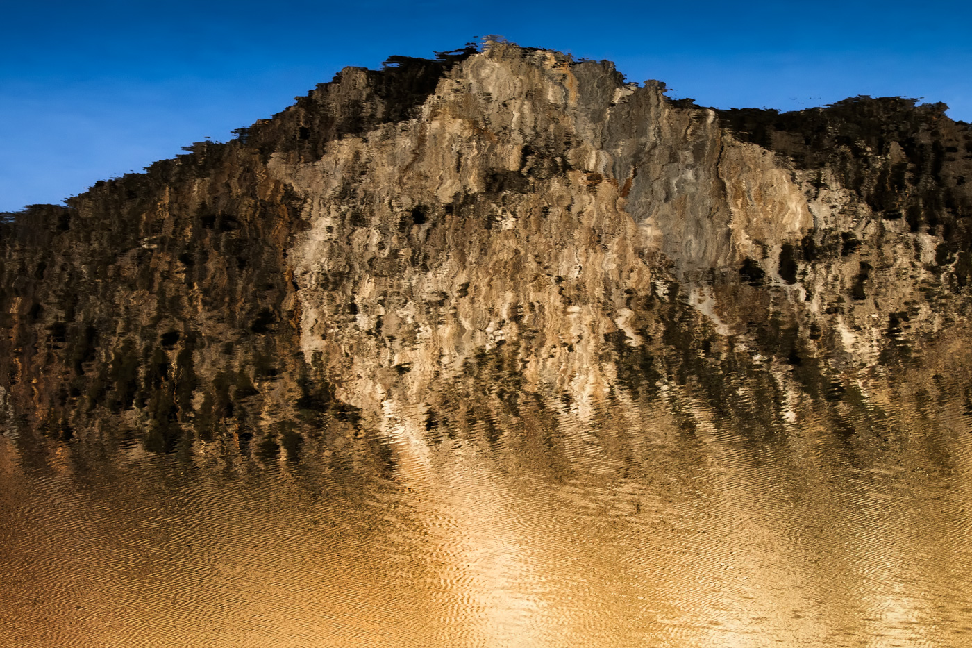 Convict Lake Shore - Eastern Sierra - Abstract Reflections
