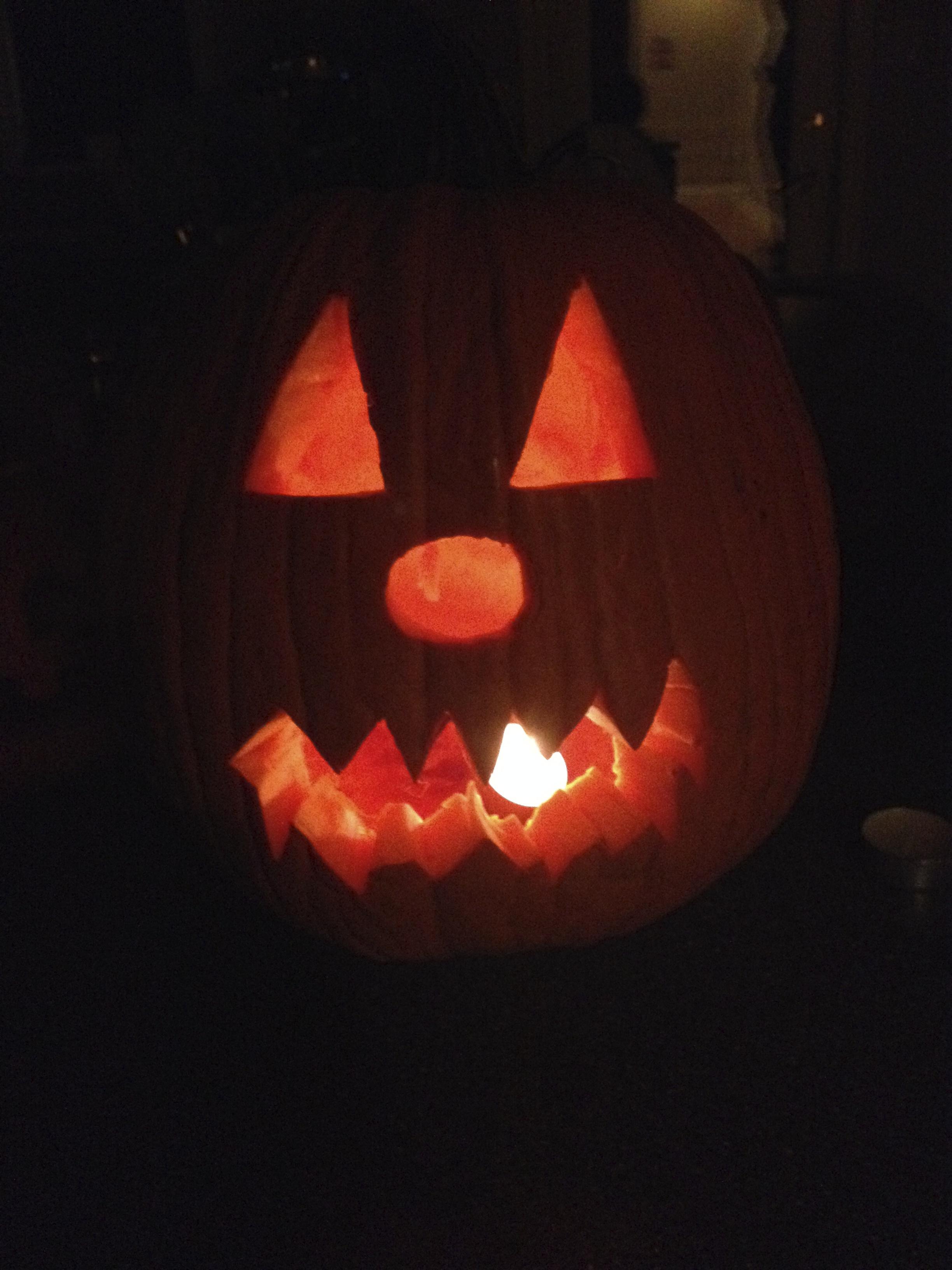 Christian's Scare o'lantern