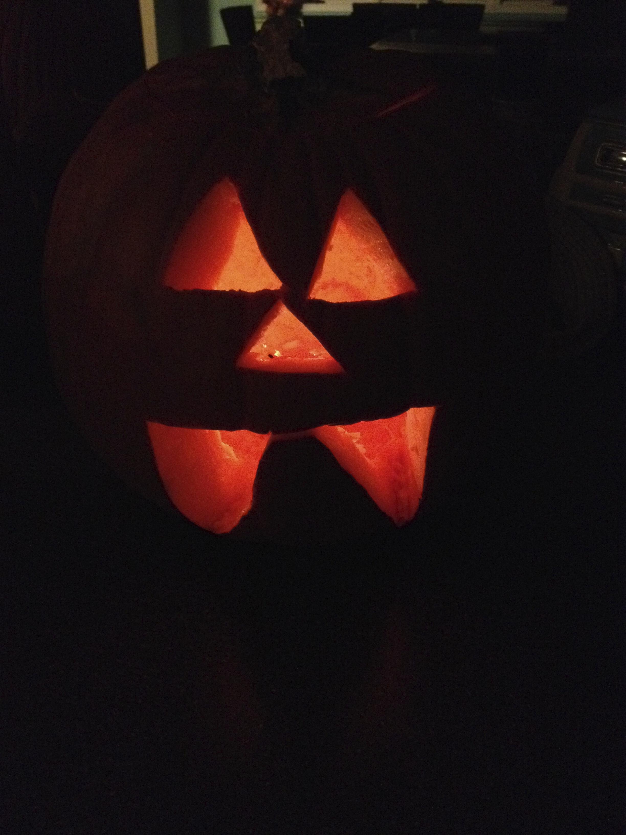 Caroline's Triangle Pumpkin