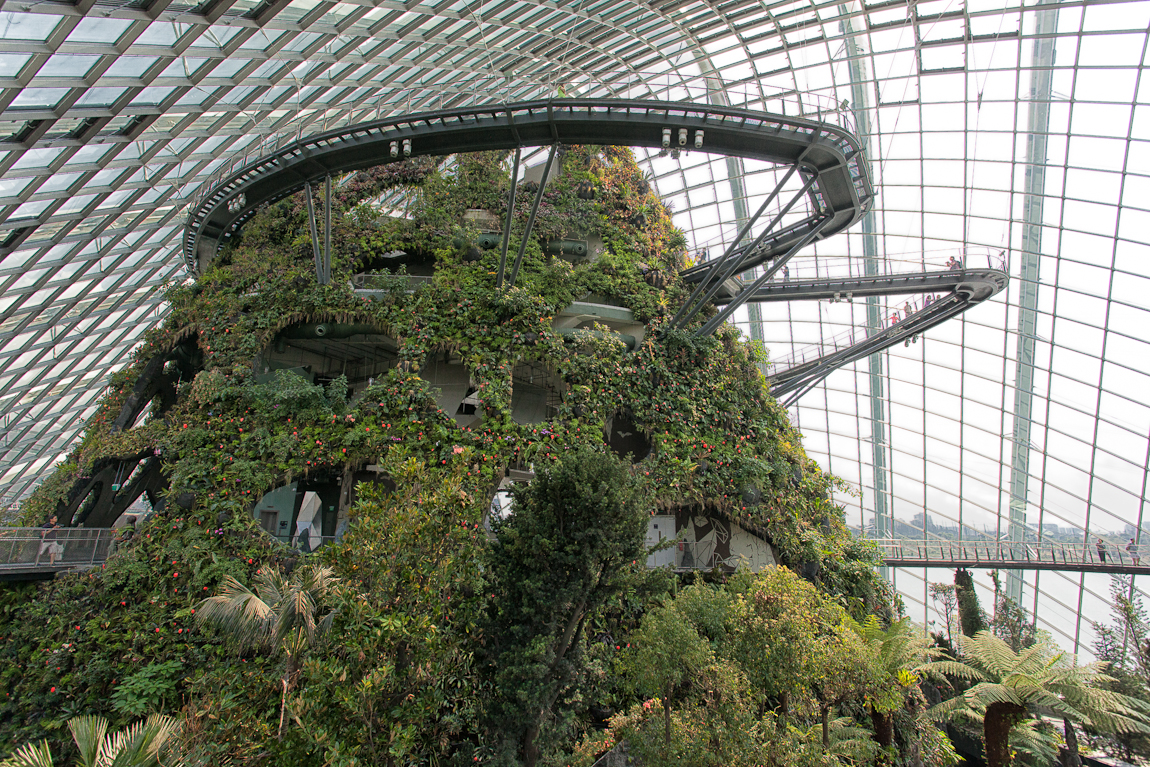 Gardens by the Bay South Opened Yesterday in Singapore