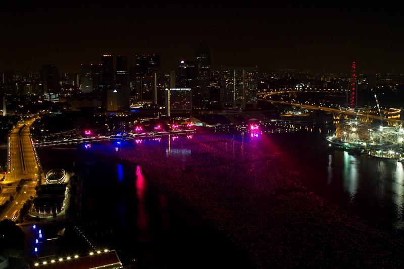 Singapore 2010 Countdown Lights Practice