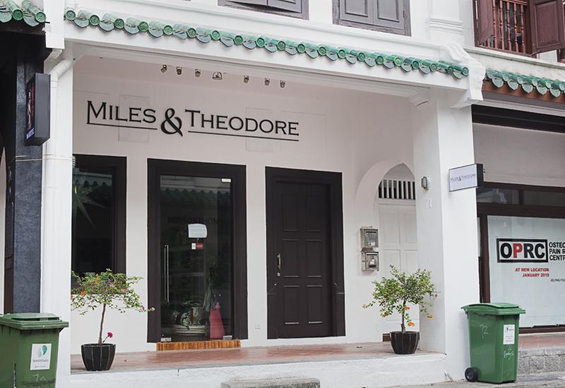 Heritage Shop Houses on Amoy Street