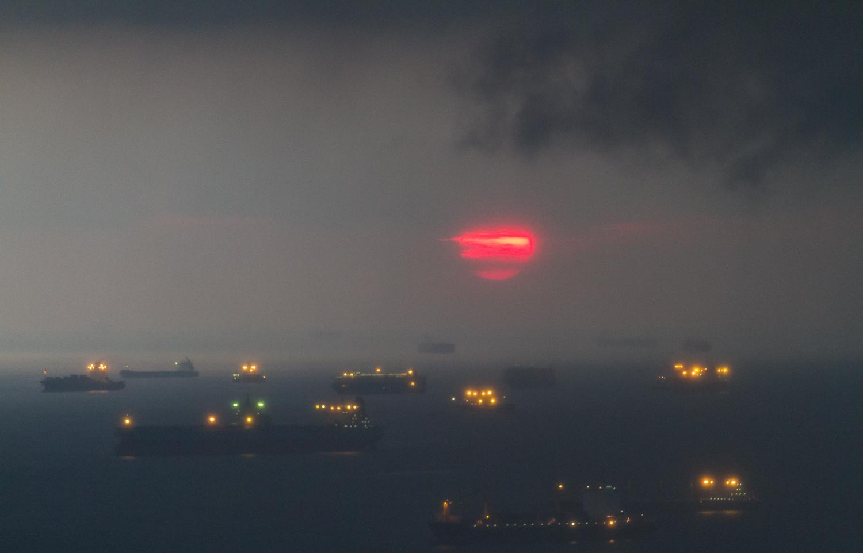 Darkness After Sunrise (Marina Bay Singapore)