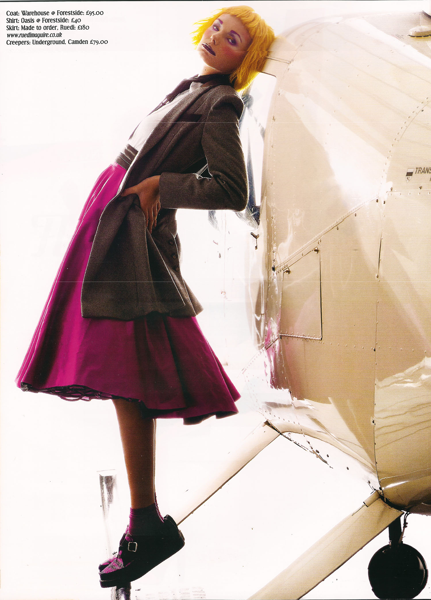 Northern Woman AW 2011, Flying into Fashion, Skirt by RUEDI
