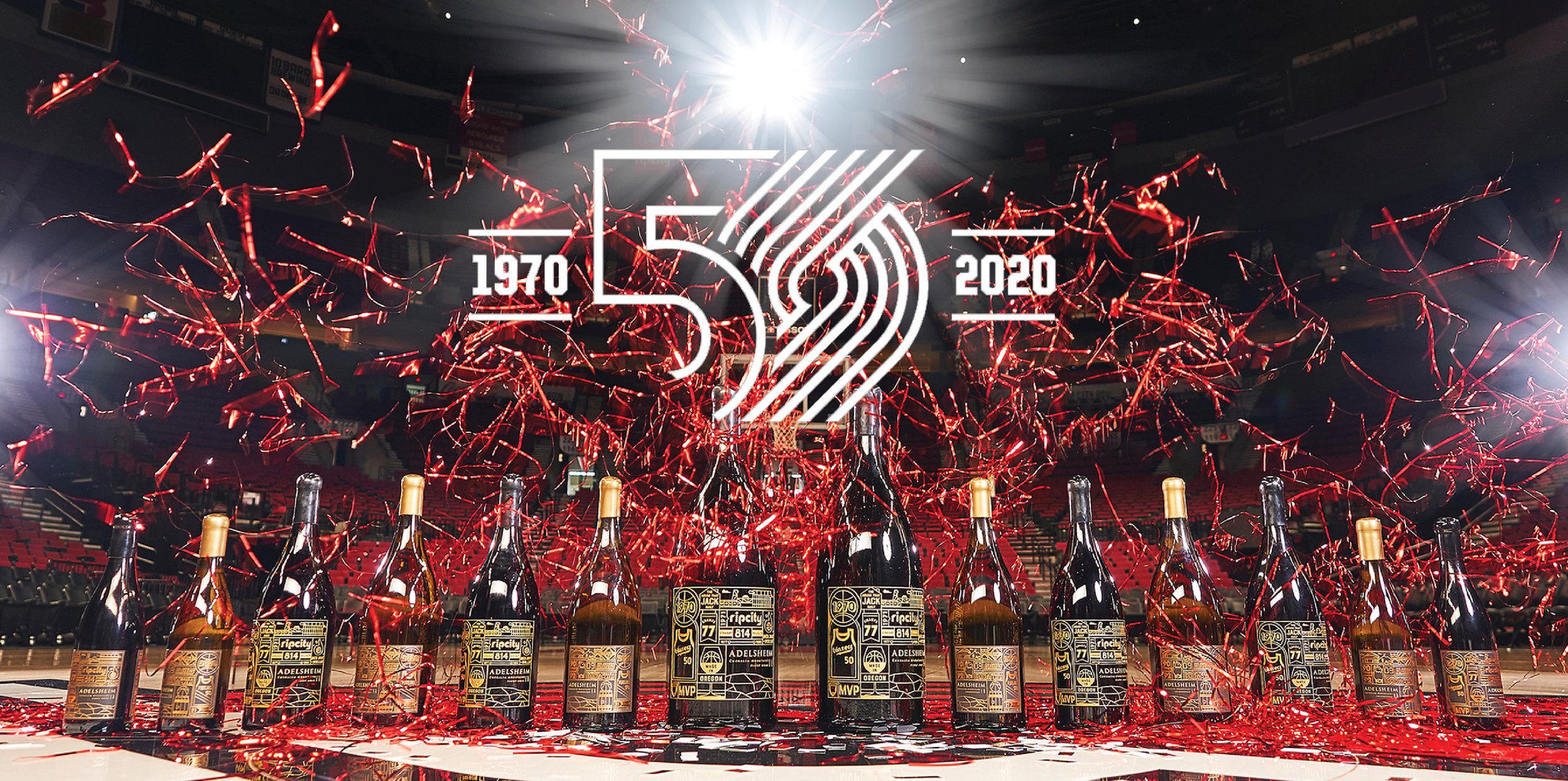 Portland Trail Blazers 50th Anniversary