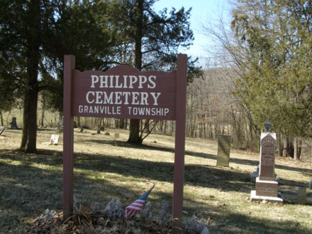 Philipps Cemetery Records — The Granville Historical Society