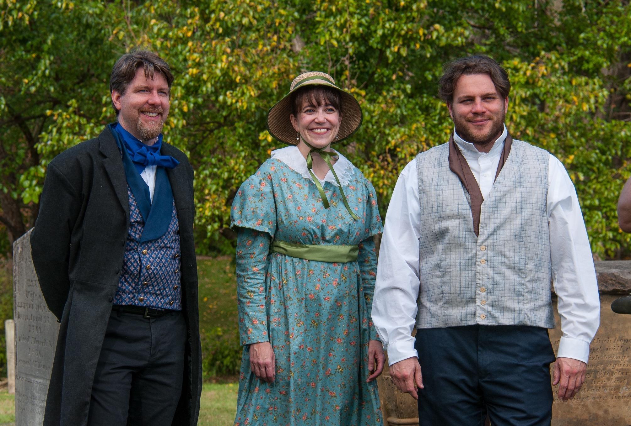 The Mower family: Lucius Mower (1793-1834), Isabella Mower Richards (1791-1821), and Sherlock Mower (1797-1837).