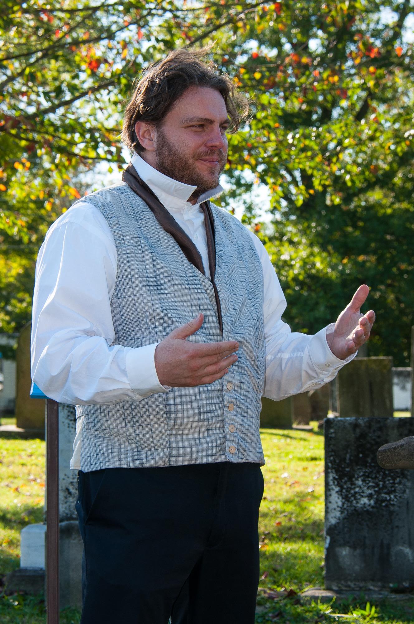 Andrew King as Sherlock Mower.