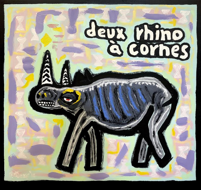 The Rhino has two Horns 2