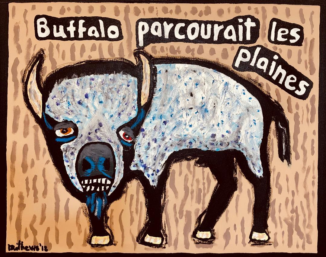 Buffalo Roamed The Plains