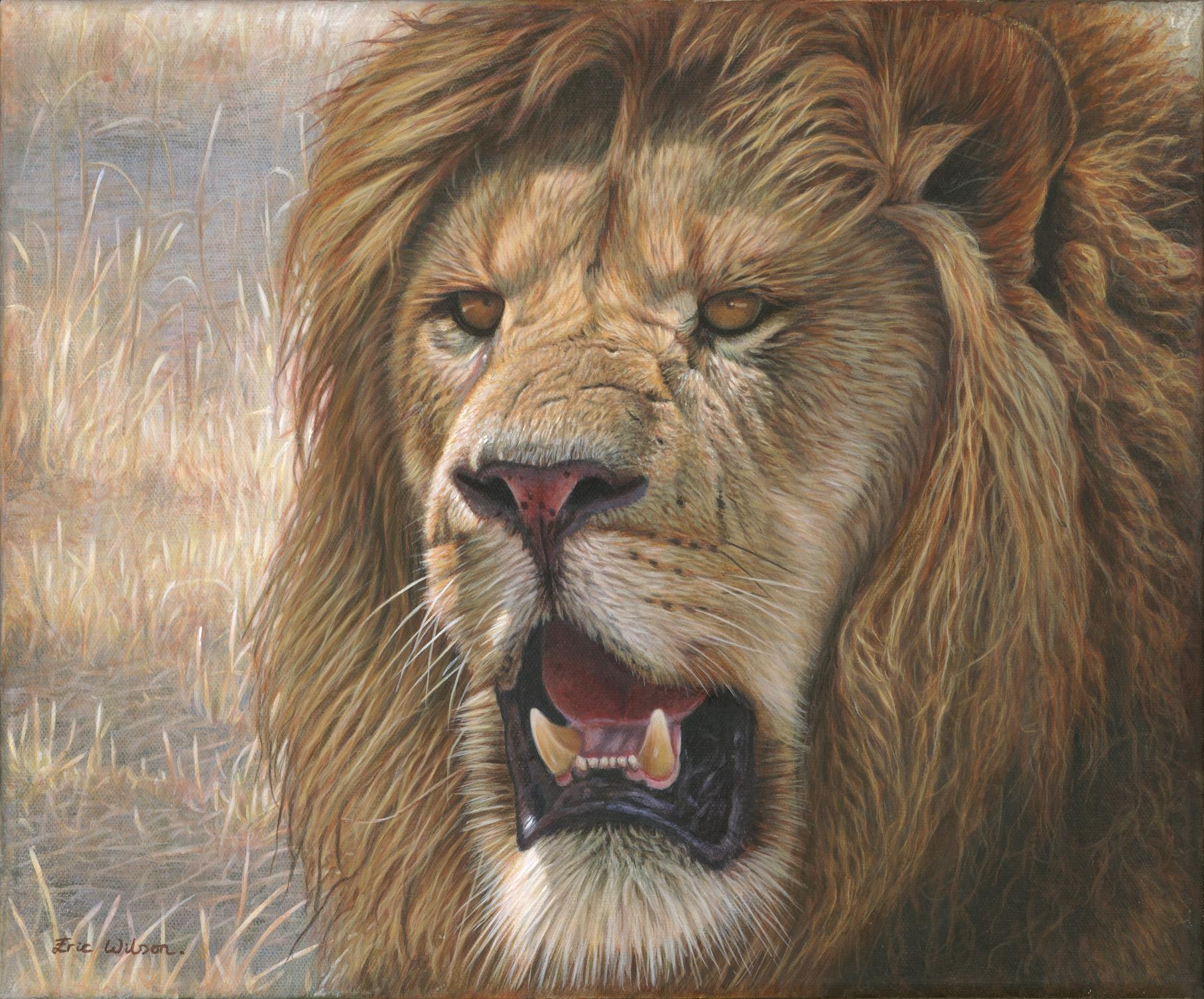 'Samoni' Acrylic on fine linen. 12 x 10 inches. £950