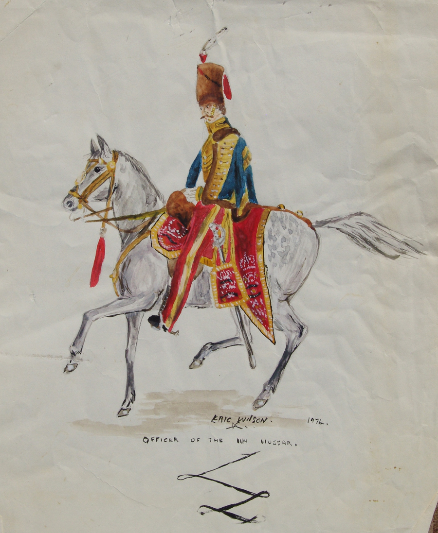 Hussar. Battle of Waterloo
