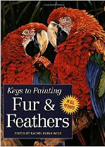 A guide to painting fur and feathers by North Light Books. Contains work by wildlife Artist Eric Wilson.