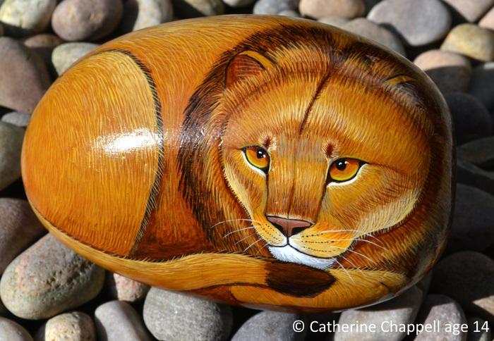 Liononrockpainting.jpg