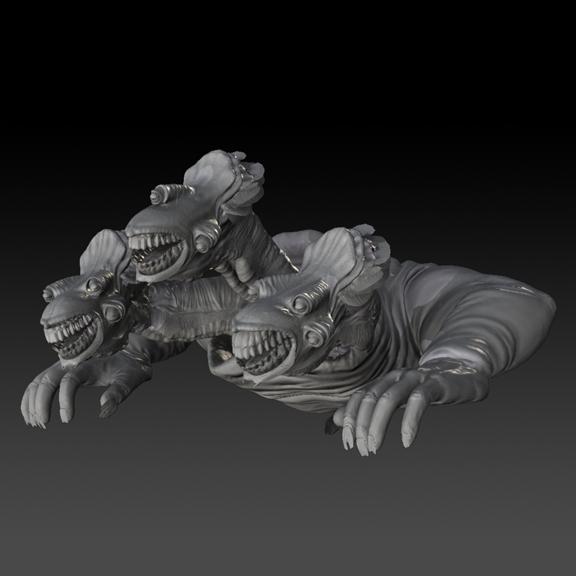 Boss Cerberus Zbrush Sculpt