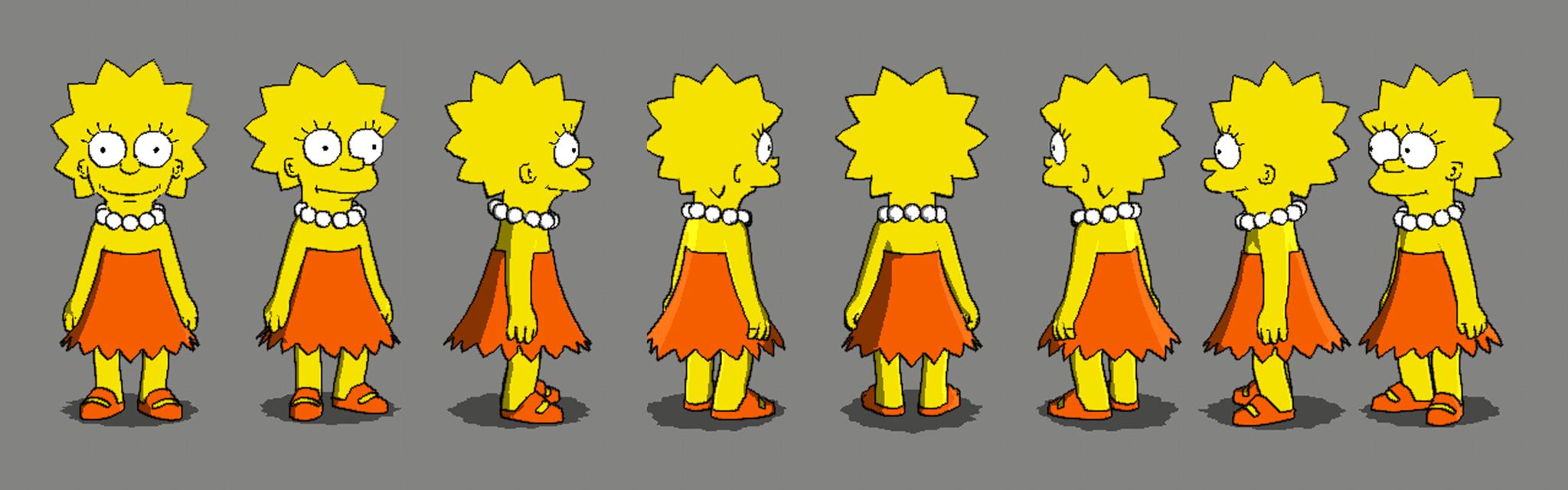 Lisa Simpson Model