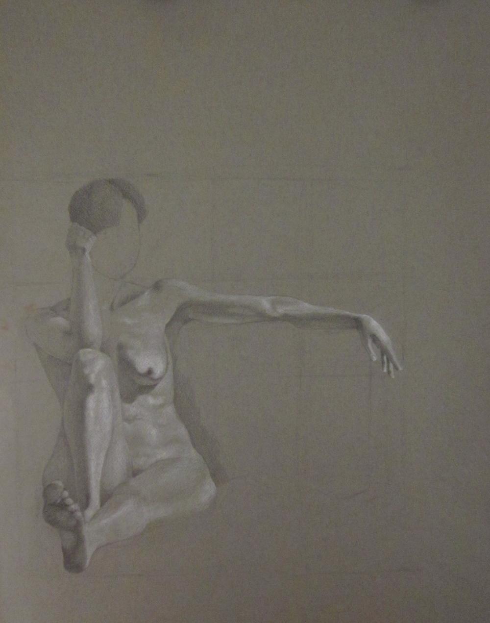 Figure Study II 24x18, 2011