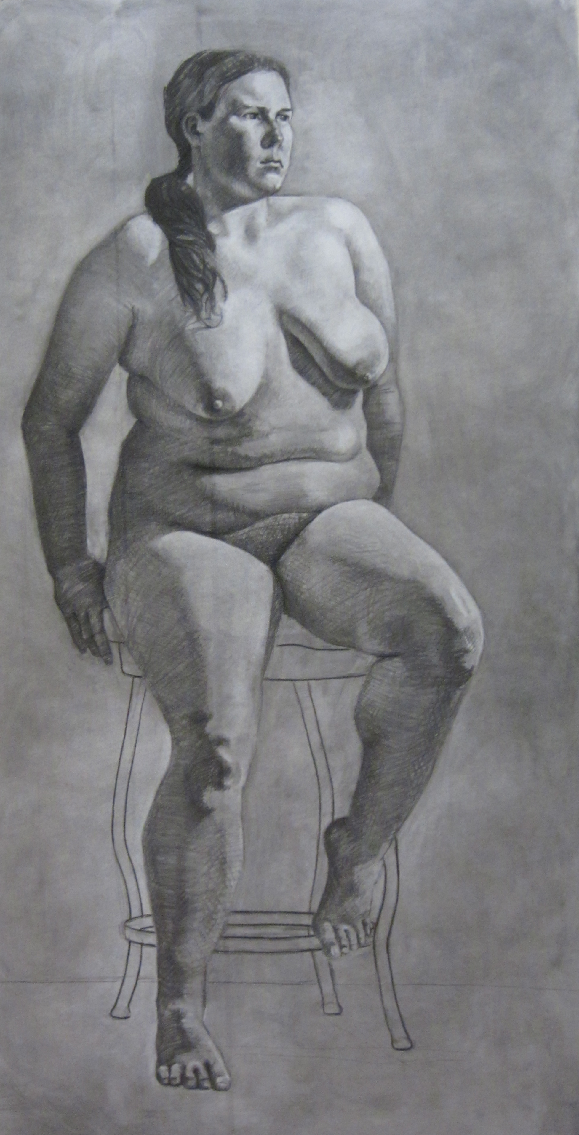 Rachel, 6'x3', 2011