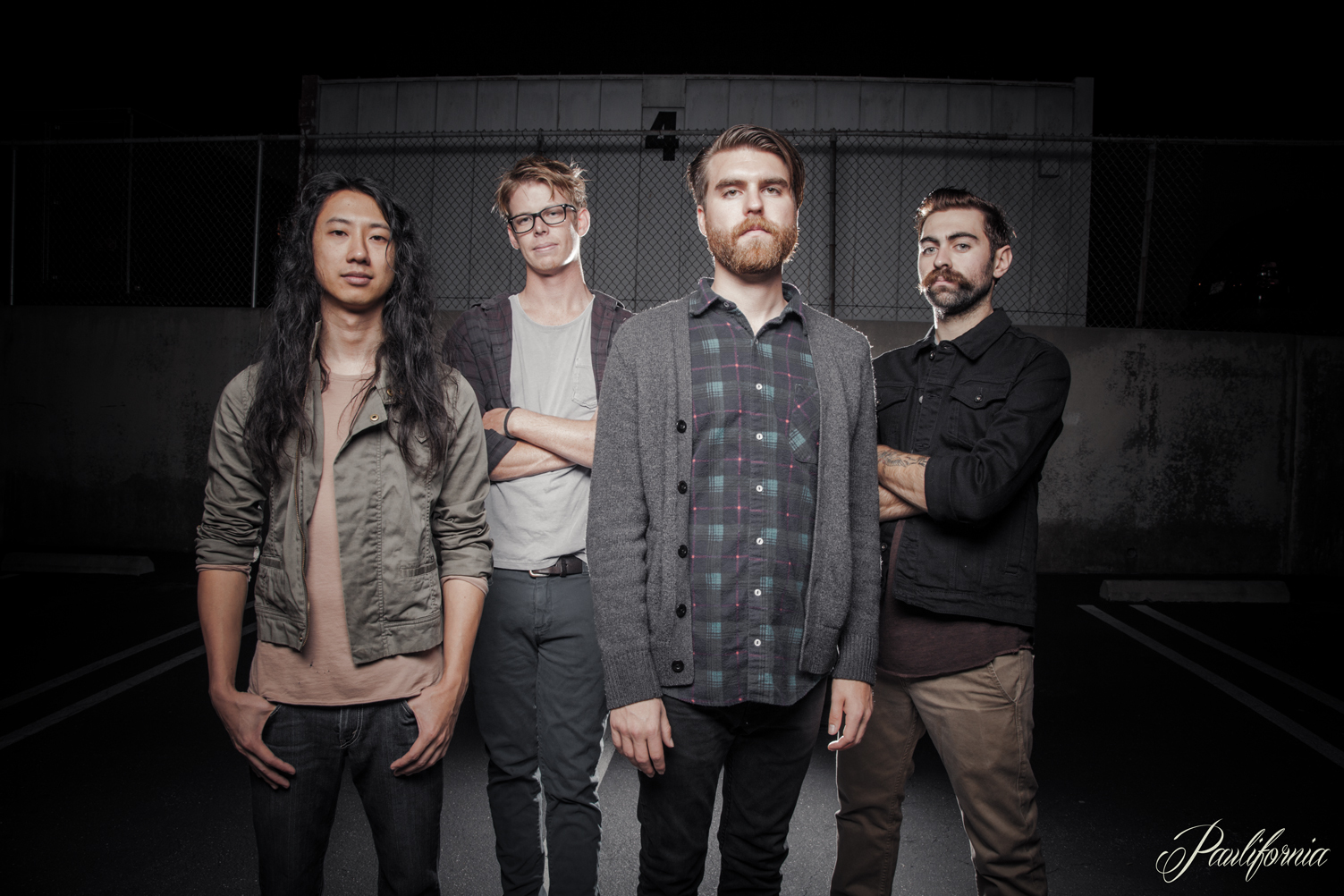 GARDNERS LOGIC is (from left to right) Vince, Phung, Mike Willson, Ian Bailey and Wyatt Fullmer.  Photo by PAULIFORNIA