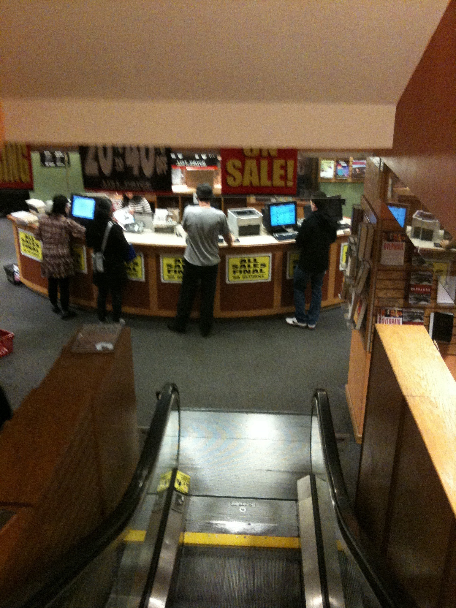 Borders Bankruptcy Sale, Park Avenue
