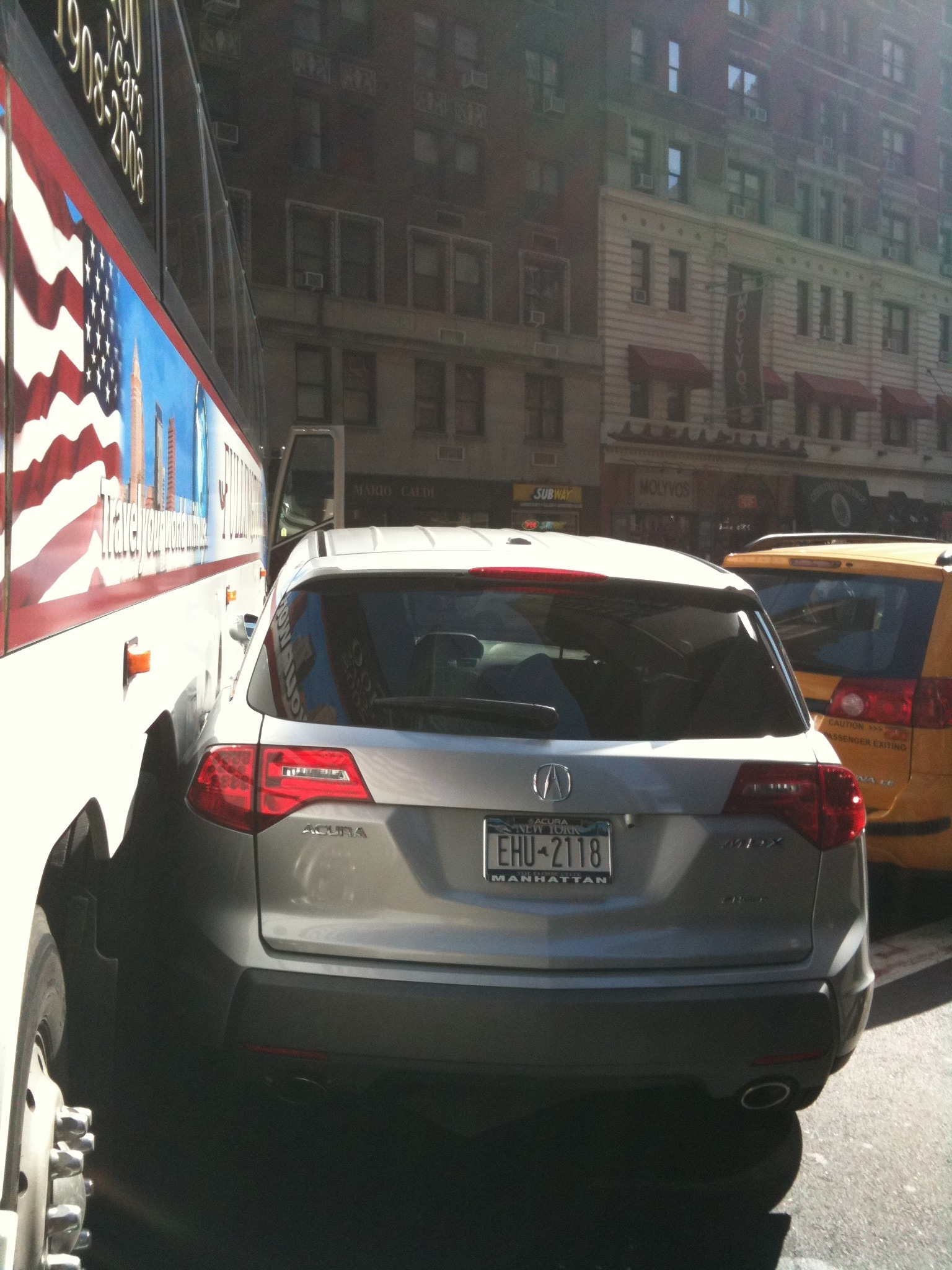 Bus crush 7th Ave