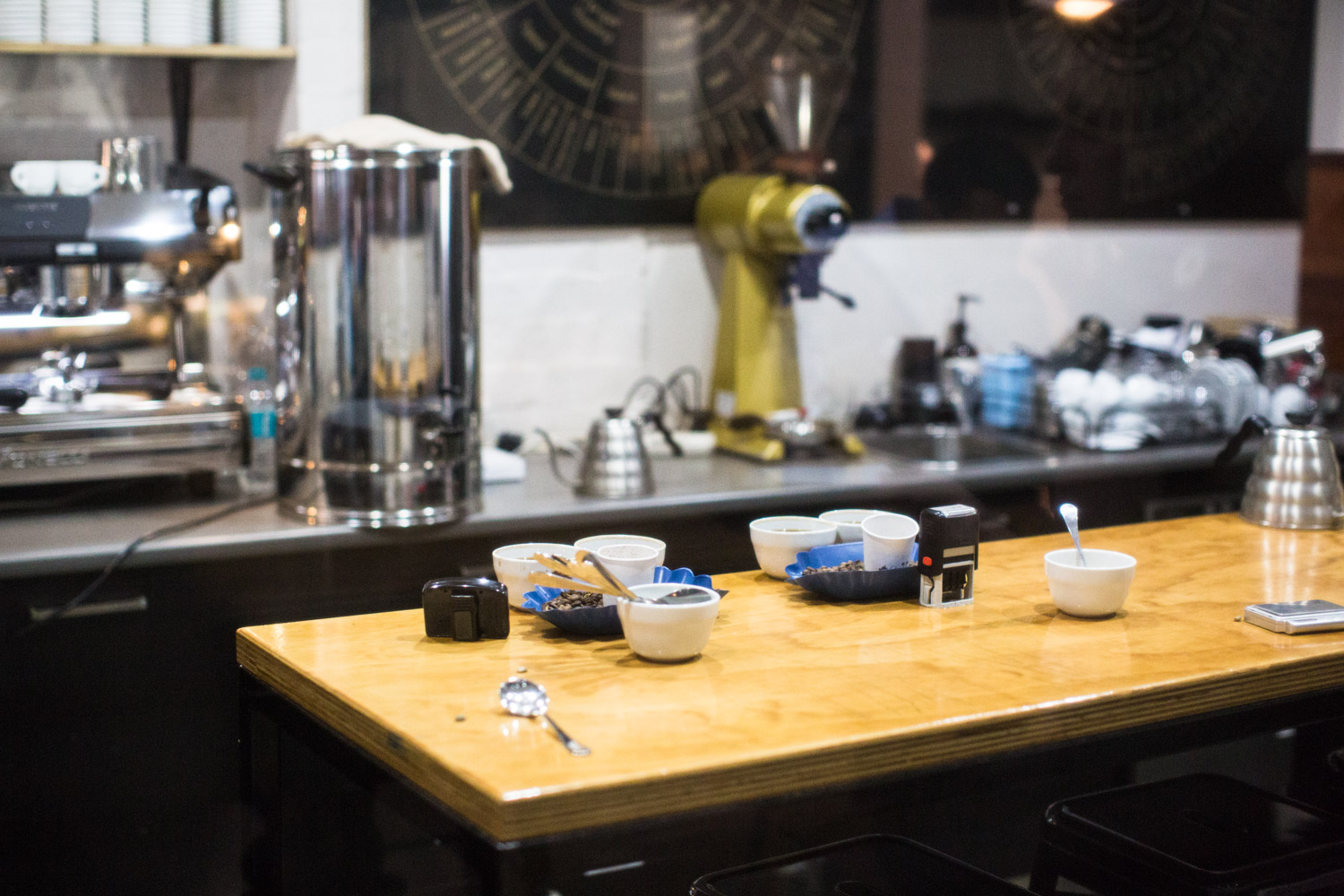 Axil Coffee Roasters lab