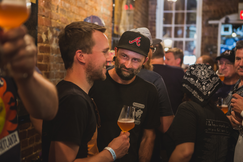 Joran Van Ginderacther at Zwanze Day in Atlanta, GA (photo by  Blake Tyers )