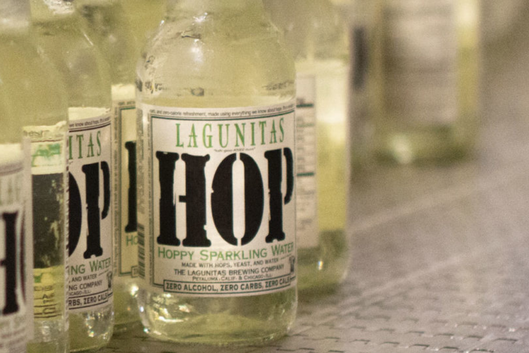 Lagunitas Releases IPA-Inspired, Hop-Flavored Sparkling