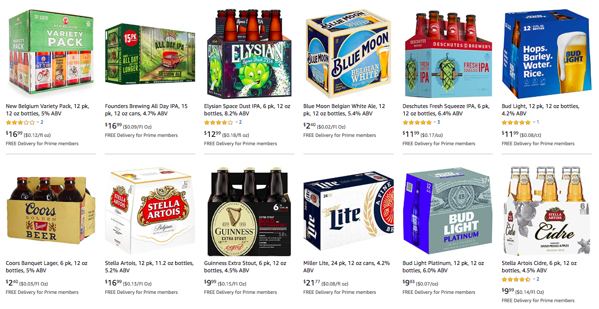 A Prime Opportunity — Amazon's Future Alcohol Lobbyist Could