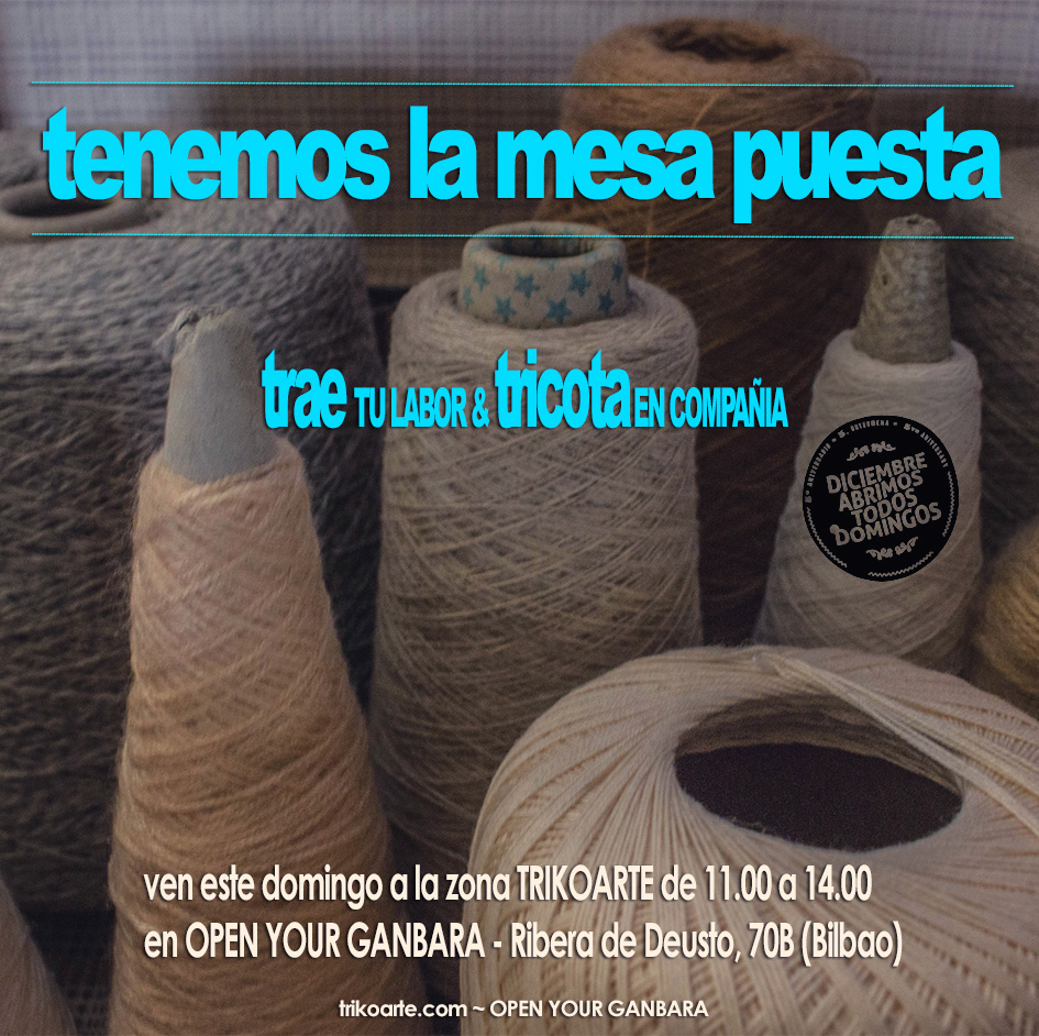 zona trikoarte en open your ganbara (5º aniversario) - Diciembre, 2014