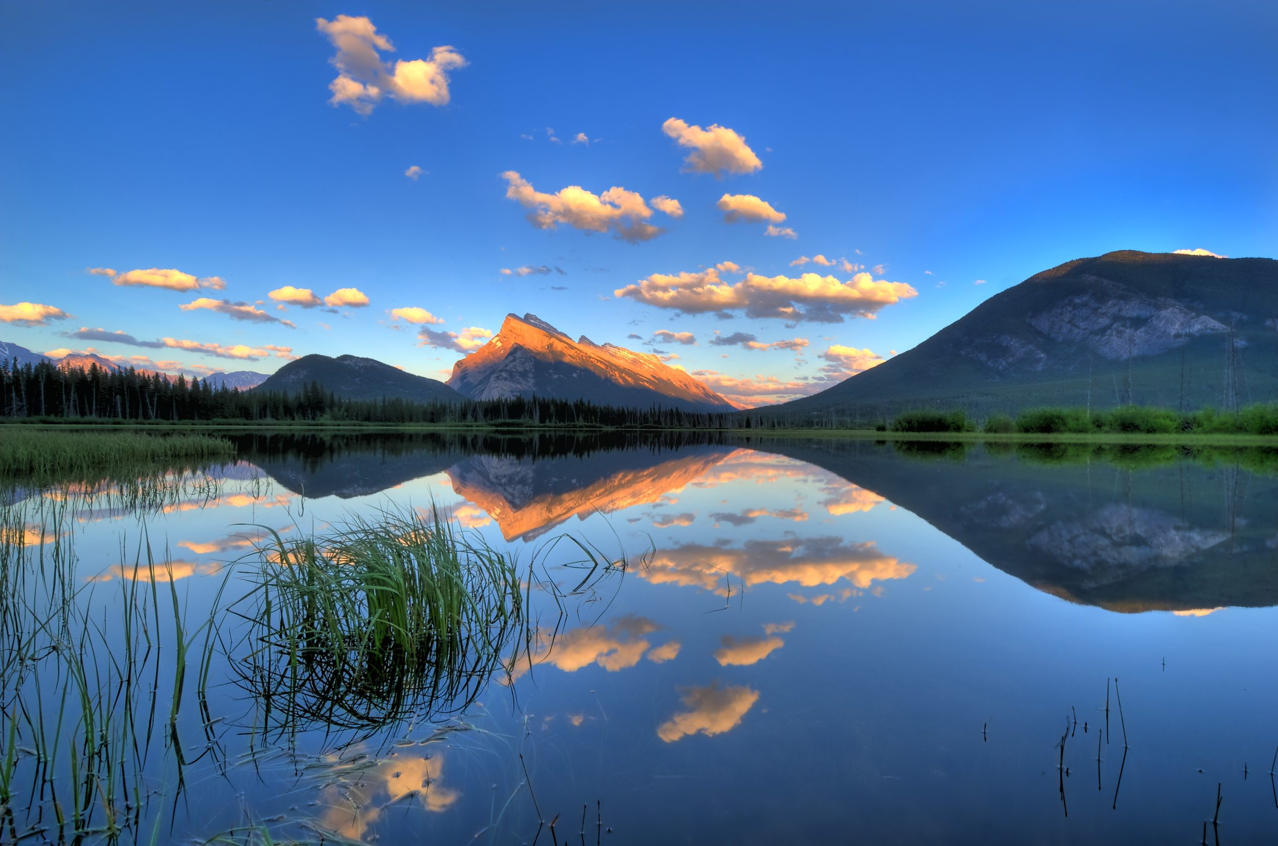 Vermillion lakes and Mt Rundle, Canadian Rockies