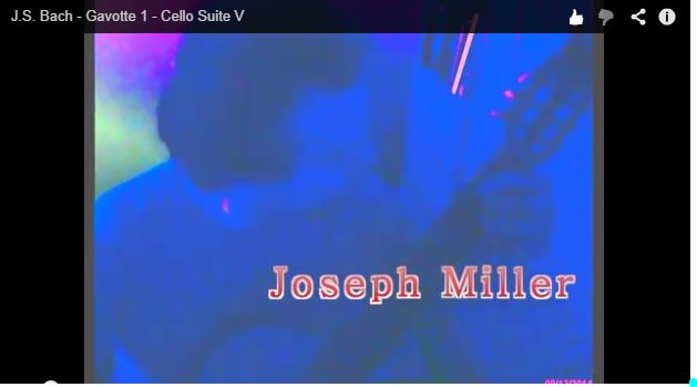 Visit Joe Miller's blog athttp://www.thewritejoe.com/2014/09/gavotte-1-from-cello-suite-v-j-s-bach/