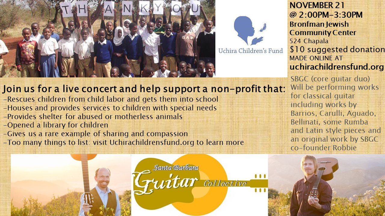 Uchira Children's Fund Benefit Concert