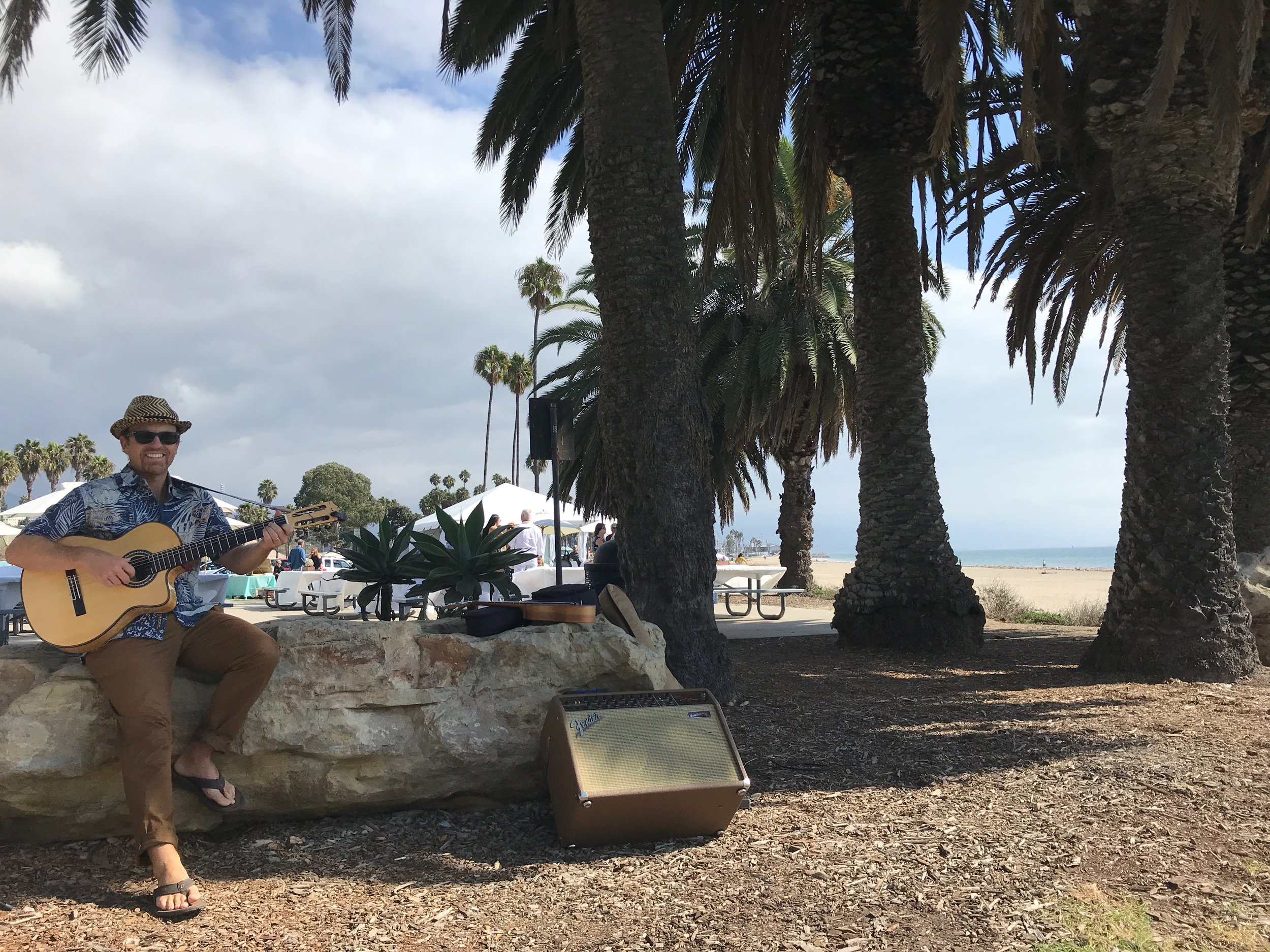 Another  Day at the Office! - GuitarWitt Performs Beach Wedding Hits