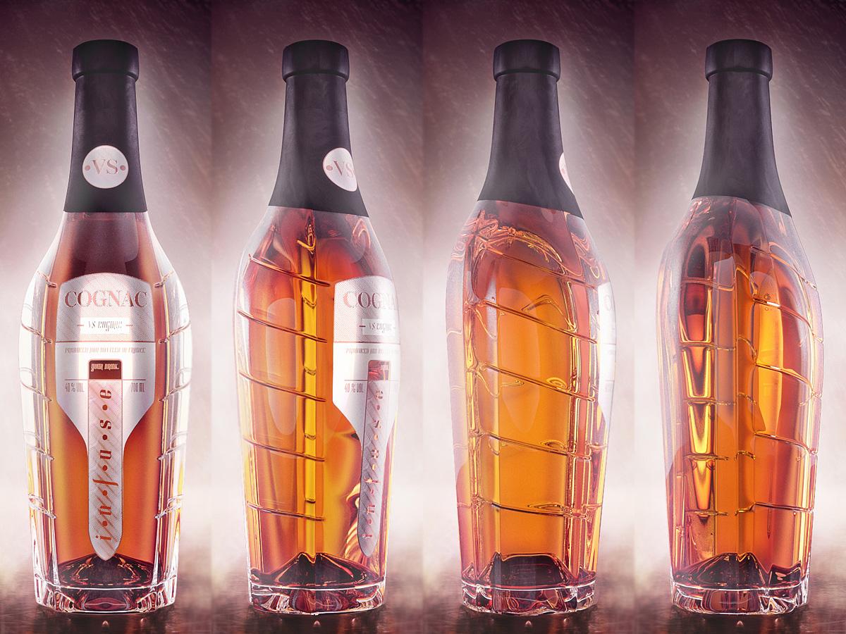 Cognac Infusion beverage concept 2