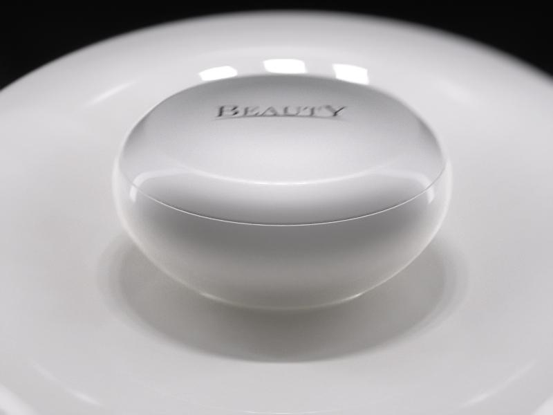 Retail, skincare premium display, VM 10