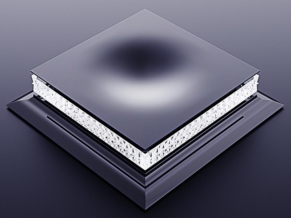 luxury crystal glass cigar ashtray 2