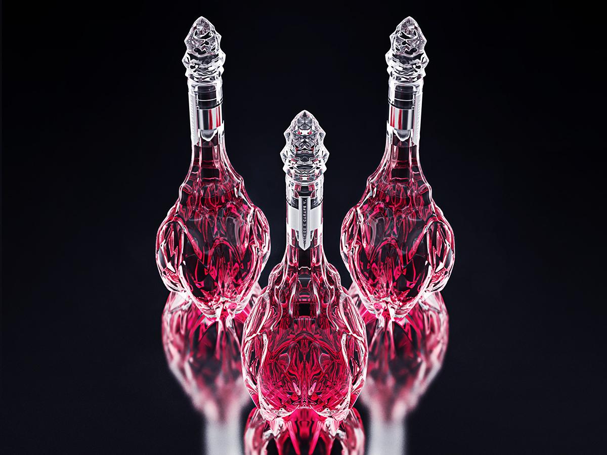 luxury crystal wine decanter 3