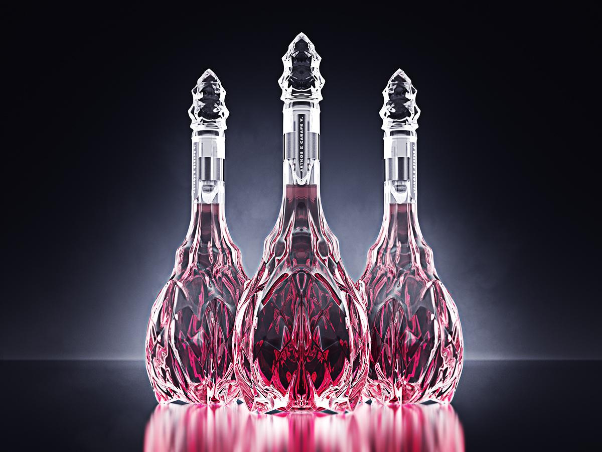 luxury crystal wine decanter 2
