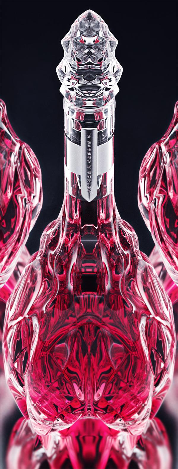 luxury crystal wine decanter 5